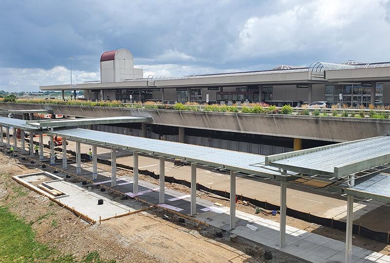 Tomrook Hayden Steel Project Louisville Kentucky Airport
